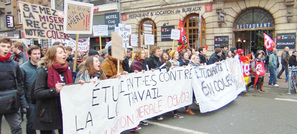 Etudiant sur Lille